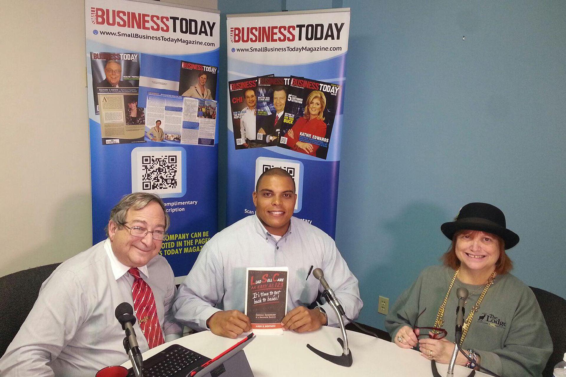 Jason Montanez Small Business Today 2