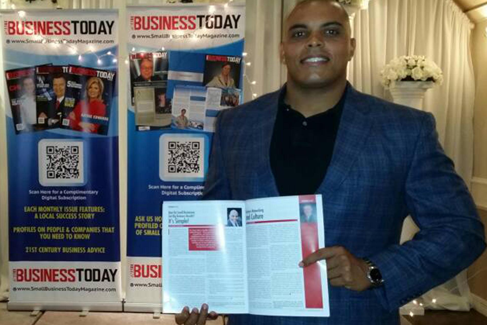 Jason Montanez Small Business Today