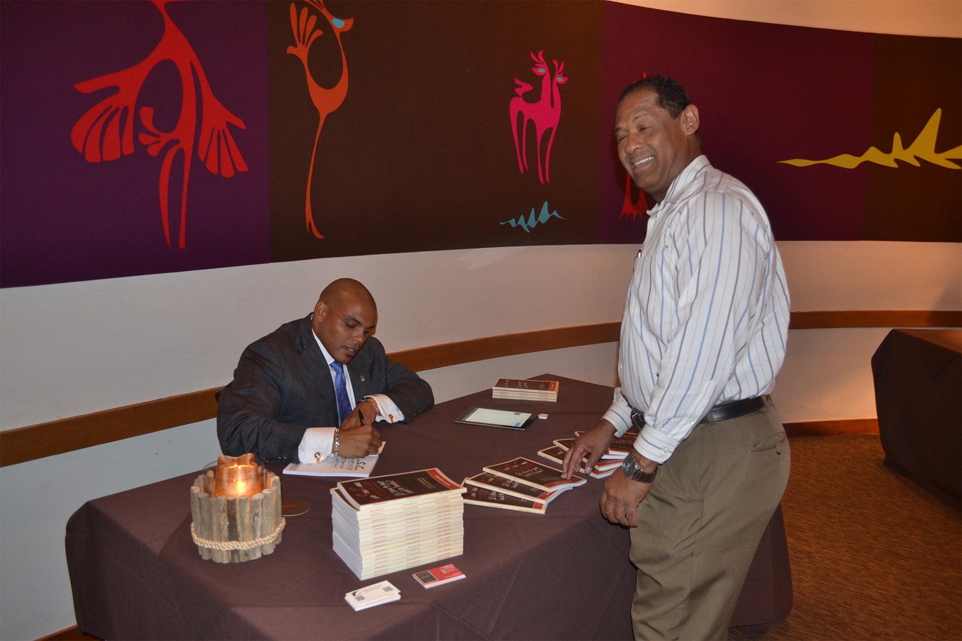 Jason Book Signing 3