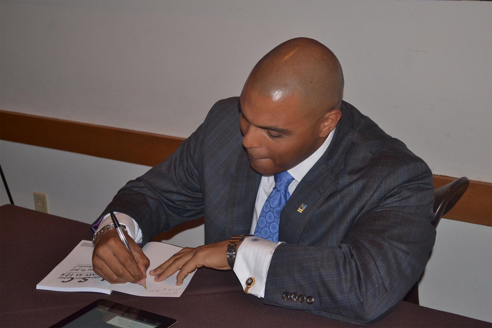 Jason Book Signing 6